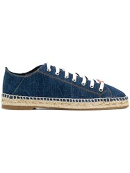 Dsquared2 Denim Espadrille Sneakers Blue