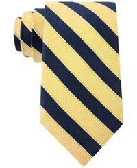 Club Room Men's Sail Stripe Tie Only At Macy's Yellow
