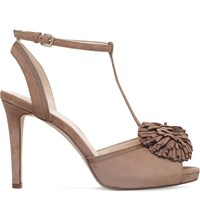 Nine West Essen Faux Suede Courts Taupe