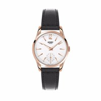 Henry London 30Mm Ladies' Richmond Watch Black White Rose Gold