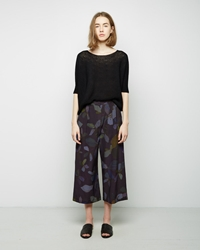 Christian Wijnants Paige Wide Leg Pants Night Flowers