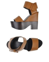 Celine Celine Sandals Brown