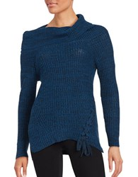 Jessica Simpson Gwenore Knit Sweater Silver