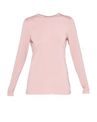 Ted Baker Rojo Fitted Long Sleeved Top Pink
