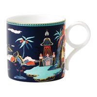 Wedgwood Wonderlust Large Mug Blue Pagoda