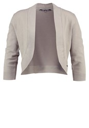 More And More Cardigan Soft Taupe Grey