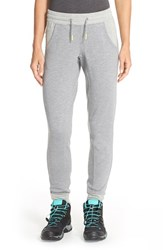 The North Face Women's Cotton Blend Sweatpants Heather Grey