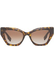 Burberry Butterfly Frame Sunglasses 60