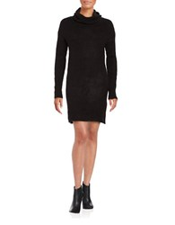 Bb Dakota Cowlneck Sweater Dress Black