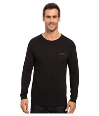 O'neill Yelafin Long Sleeve Screen Tee Black Men's T Shirt
