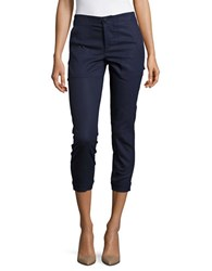 Ivanka Trump Straight Leg Dress Pants Navy
