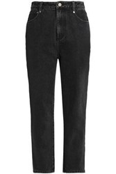 3.1 Phillip Lim High Rise Tapered Jeans Black
