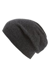 Men's The Rail Cashmere Knit Cap Grey Charcoal
