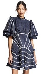 Acler Perry Dress Midnight