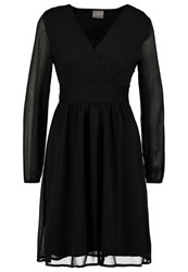 Vero Moda Vmalma Cocktail Dress Party Dress Black Solid