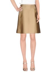 Chloe Skirts Knee Length Skirts Women Beige