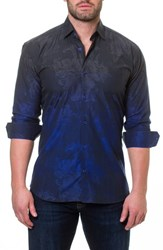 Maceoo Luxor Mariana Blue Slim Fit Sport Shirt
