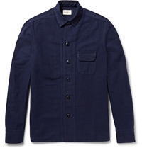 Simon Miller M053 Beckley Indigo Rinsed Denim Jacket Blue