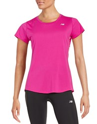 New Balance Accelerate Tee Pink