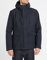 Norse Projects Navy Primaloft Nunk Wool Lined Parka Blue