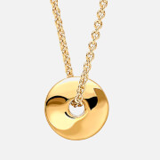 Missoma Women's Cosmic Coin Necklace Gold