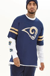 Forever 21 Nfl Los Angeles Rams Tee Blue Gold