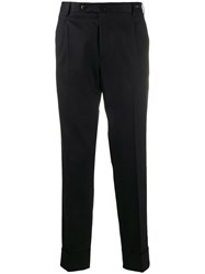 Pt01 Tapered Trousers Black