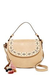T Shirt And Jeans Willow Harbor Crossbody Beige