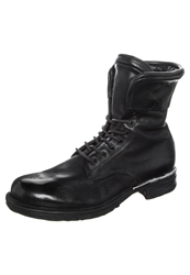 A.S.98 Laceup Boots Nero Black