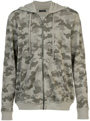 Atm Anthony Thomas Melillo Camouflage Hoodie Green