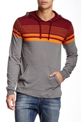 Micros Mixer Jacquard Hoodie Red