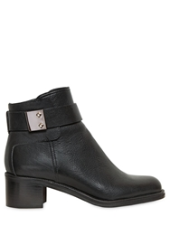 Grey Mer 50Mm Belted Calf Boots Black