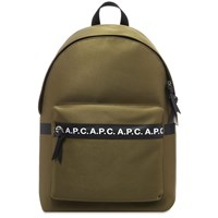 A.P.C. Taped Seam Backpack Green