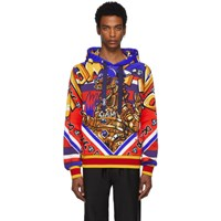 Dolce And Gabbana Multicolor Glamzilla Hoodie