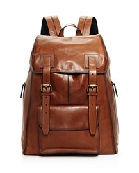 John Varvatos Star Usa Heritage Backpack Brownstone