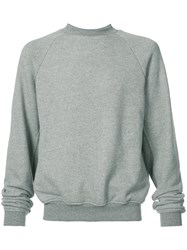 John Elliott Hellweek Crewneck Sweatshirt Men Cotton Polyester S Grey