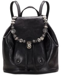 Patricia Nash Studded Hardware Casape Medium Backpack Black