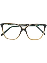 Ralph Vaessen Hanneke Oversized Glasses Brown