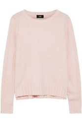 Line Charlie Ribbed Knit Sweater Pastel Pink