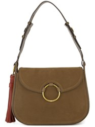 Tory Burch 'Tassel' Shoulder Bag Nude And Neutrals