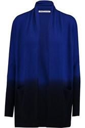 Autumn Cashmere Dip Dyed Cardigan Midnight Blue