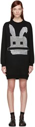 Mcq By Alexander Mcqueen Black Bunny Dress