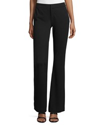 Haute Hippie Crepe Flare Pants Black Women's