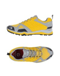 The North Face Footwear Low Tops And Trainers Men Yellow