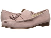 Sam Edelman Therese Pink Mauve Kid Suede Leather Women's Shoes Beige