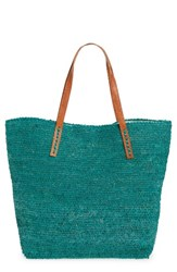 Mar Y Sol 'Portland' Packable Raffia Tote