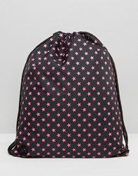 Mi Pac Exclusive Star Print Drawstring Black