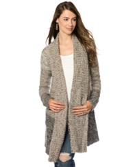 Splendid Maternity Maternity Ombre Wool Blend Sweater Coat