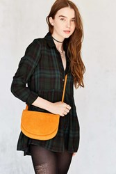 Urban Outfitters Natalie Double Pouch Crossbody Bag Orange