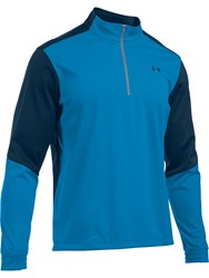 Under Armour Men's Elements 1 2 Zip Jumper Royal Blue